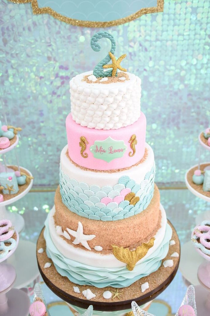 Best ideas about Mermaid Themed Birthday Party . Save or Pin Kara s Party Ideas Mermaid Oasis Themed Birthday Party Now.