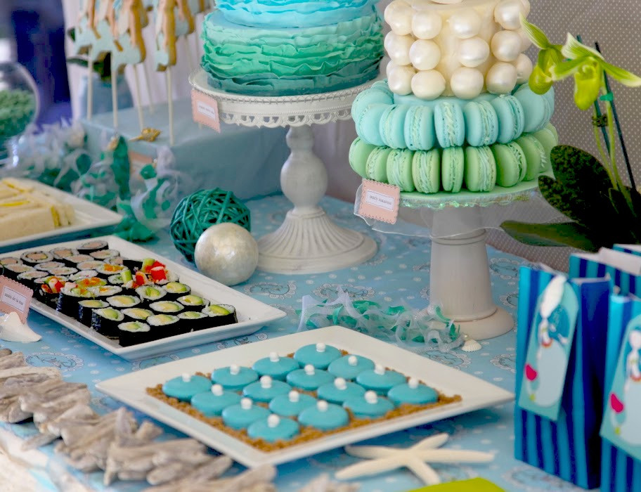 Best ideas about Mermaid Themed Birthday Party . Save or Pin Kara s Party Ideas Mermaid Themed Birthday Party Now.
