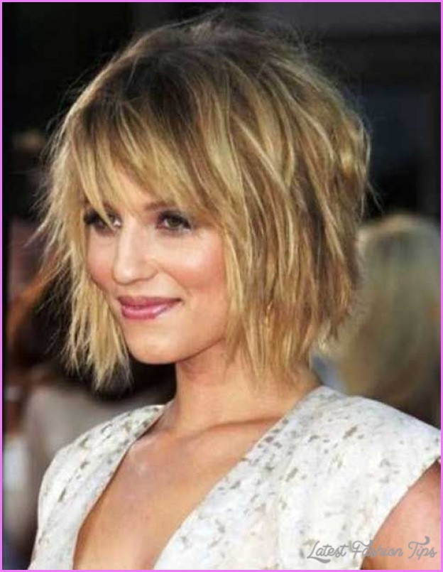 Messy Bob Haircuts  Medium messy bob hairstyles LatestFashionTips