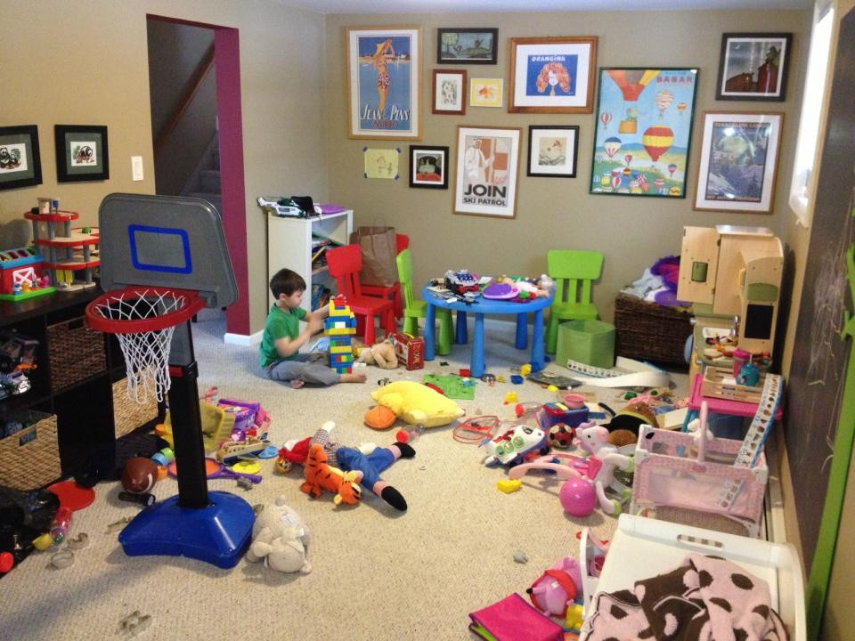 Best ideas about Messy Kids Room . Save or Pin 25 Ingenious Ways How to Keep Playroom Clutter Free Now.