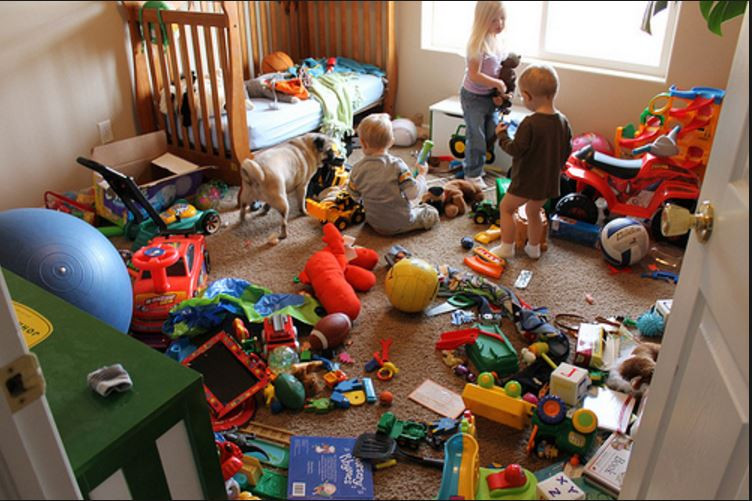 Best ideas about Messy Kids Room . Save or Pin Is too much stuff affecting our ability to be content Now.
