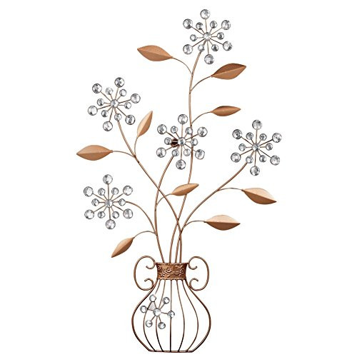 Best ideas about Metal Wall Art Amazon . Save or Pin Flower Metal Wall Art Decor Amazon Now.