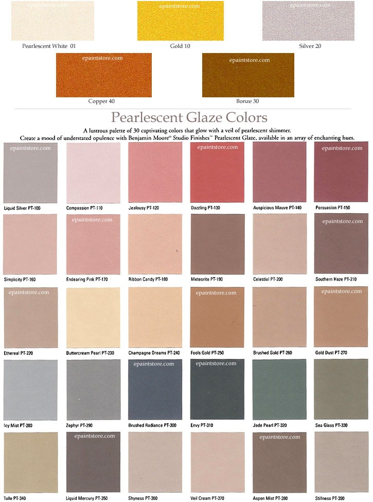 Best ideas about Metallic Paint Colors . Save or Pin Benjamin Moore Metallic Paint Color Chart ayUCar Now.