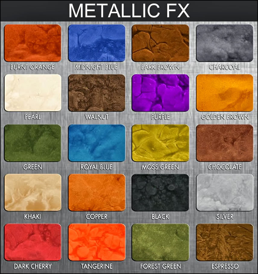 Best ideas about Metallic Paint Colors . Save or Pin Car Metallic Color Chart Now.