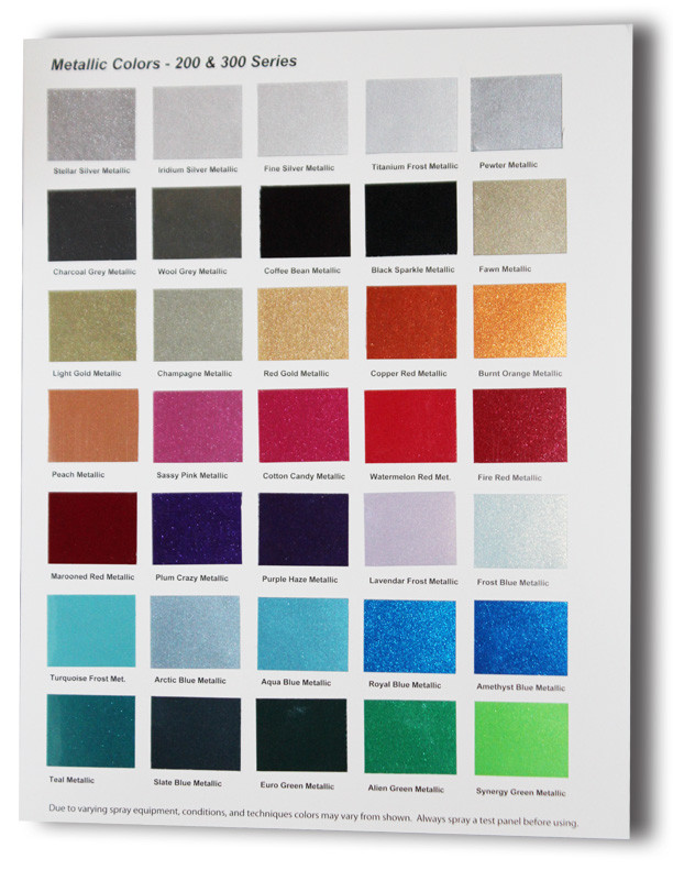 Best ideas about Metallic Paint Colors . Save or Pin UreKem Metallic Color Charts Now Available TheCoatingStore Now.