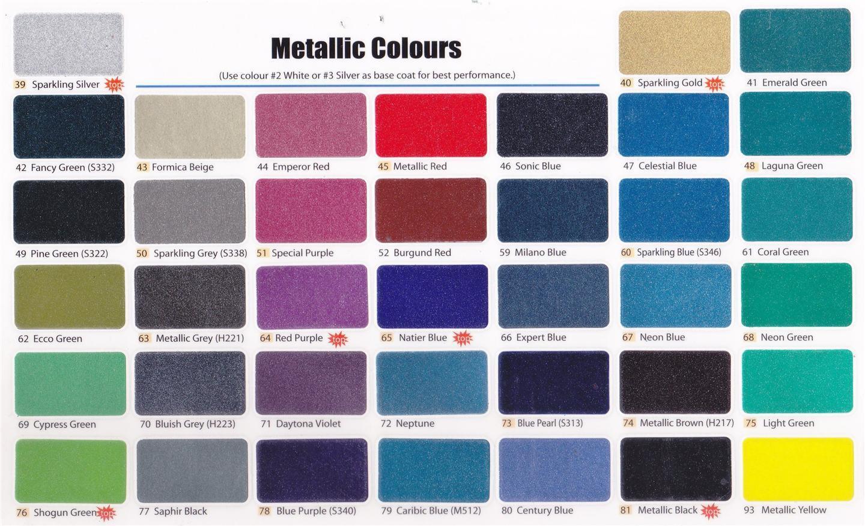 Best ideas about Metallic Paint Colors . Save or Pin Samurai Spray Paint Metallic Colour end 3 3 2020 9 27 AM Now.