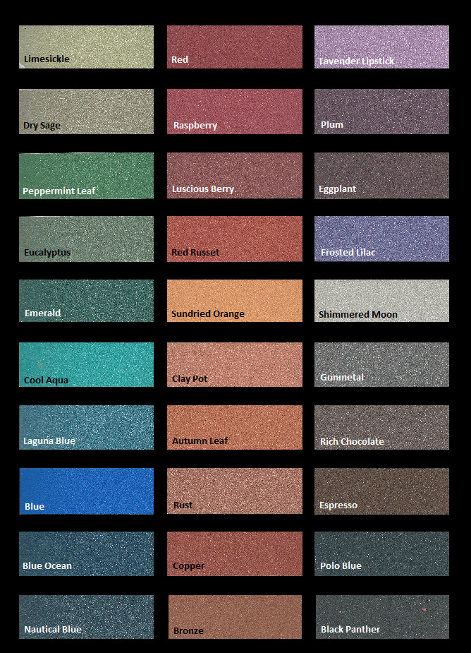 Best ideas about Metallic Paint Colors . Save or Pin Modern Masters metallic plasters color chart Now.