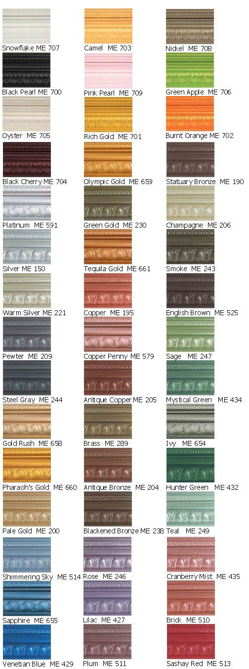 Best ideas about Metallic Paint Colors . Save or Pin 1000 images about Modern masters paint on Pinterest Now.