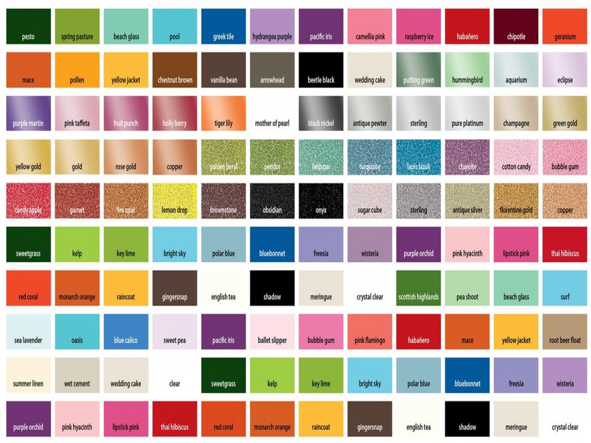Best ideas about Metallic Paint Colors . Save or Pin Decor glass martha stewart metallic paint color chart Now.