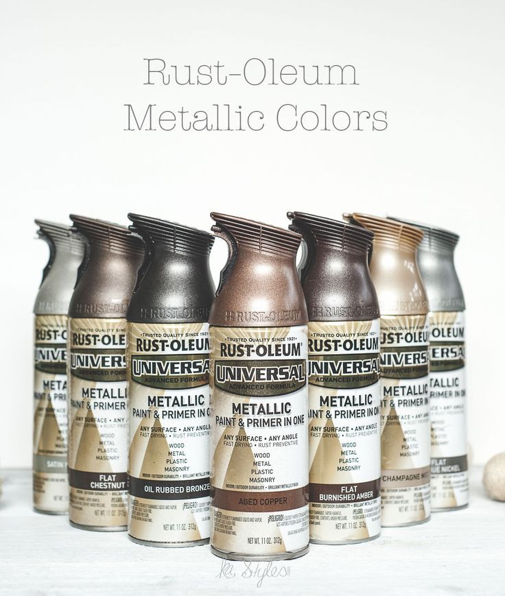Best ideas about Metallic Spray Paint Colors . Save or Pin 80 best images about DIY Home on Pinterest Now.