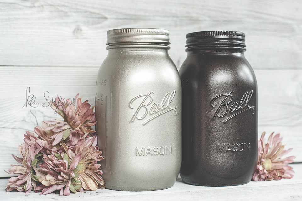 Best ideas about Metallic Spray Paint Colors . Save or Pin Rust Oleum Metallic Spray Paints KA Styles Mason Jars & DIY Now.