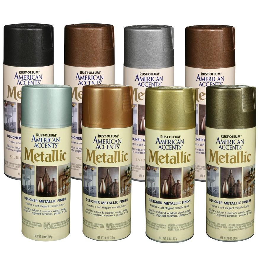 Best ideas about Metallic Spray Paint Colors . Save or Pin Rust Oleum Metallic Accents Paint Colors Paint Color Ideas Now.