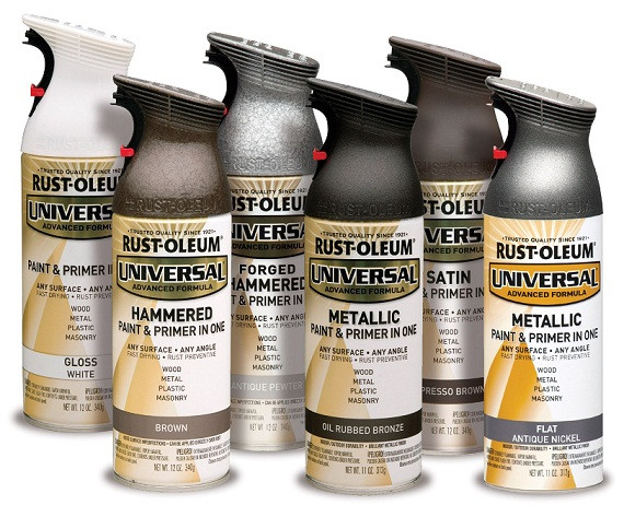 Best ideas about Metallic Spray Paint Colors . Save or Pin Rust Oleum Universal 11 oz All Surface Metallic Satin Oil Now.