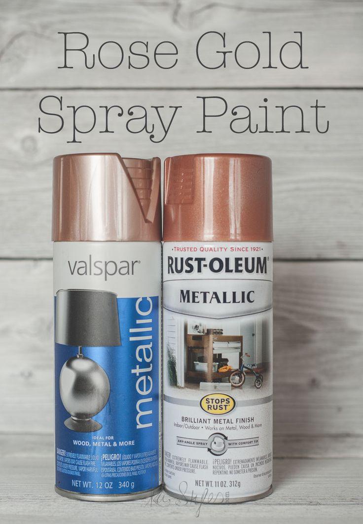 Best ideas about Metallic Spray Paint Colors . Save or Pin 25 Best Ideas about Copper Spray Paint on Pinterest Now.