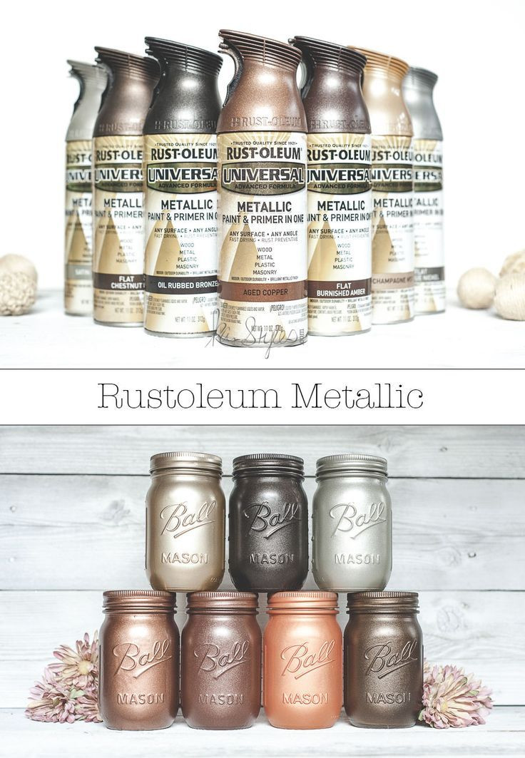 Best ideas about Metallic Spray Paint Colors . Save or Pin Rust Oleum Metallic Spray Paints Now.