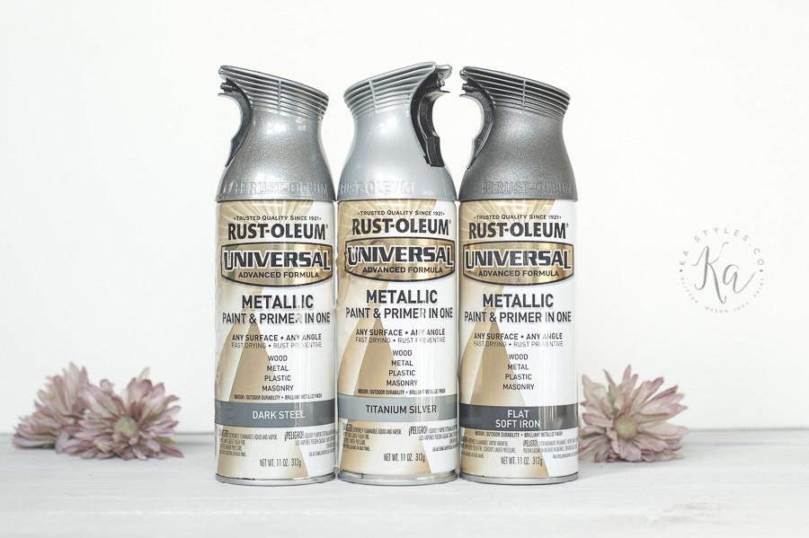 Best ideas about Metallic Spray Paint Colors . Save or Pin Rust Oleum Metallic Spray Paints KA Styles Now.