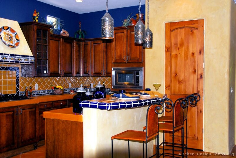 Best ideas about Mexican Kitchen Decor . Save or Pin 44 Top Talavera Tile Design Ideas Now.