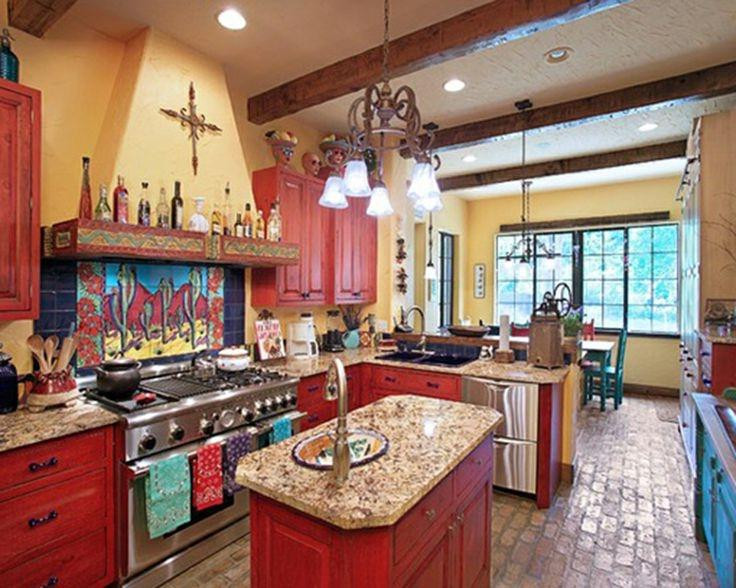 Best ideas about Mexican Kitchen Decor . Save or Pin s of mexican style kitchens Now.