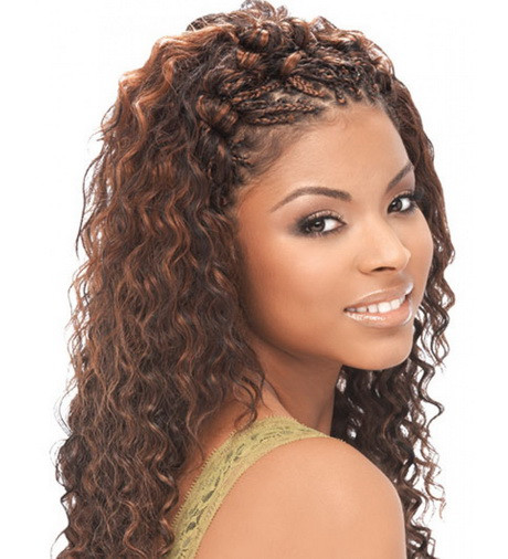 Micro Braids Hairstyles Wavy  Micro braid hair
