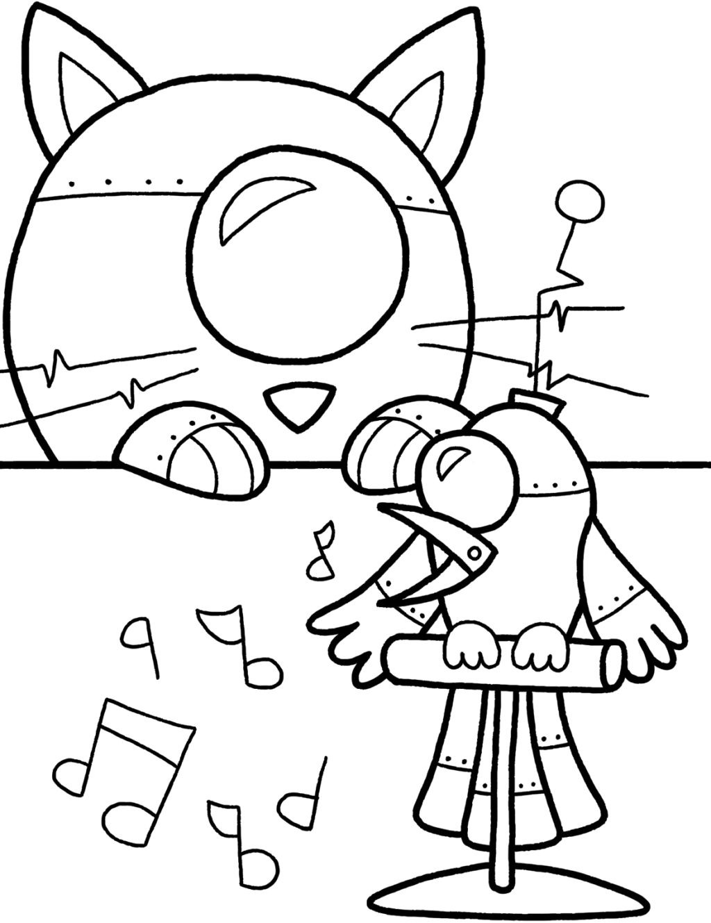 Mighty Pups Coloring Pages  Decepticon Free Colouring Pages