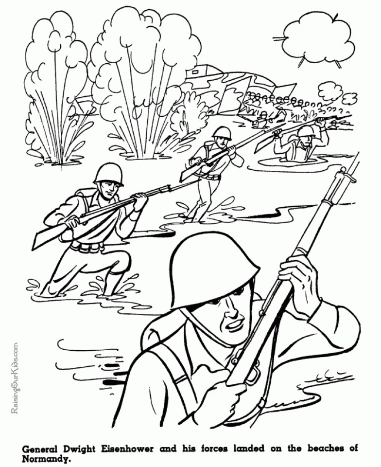 Military Coloring Pages For Kids  Get This Kids Printable Army Coloring Pages vcb2489