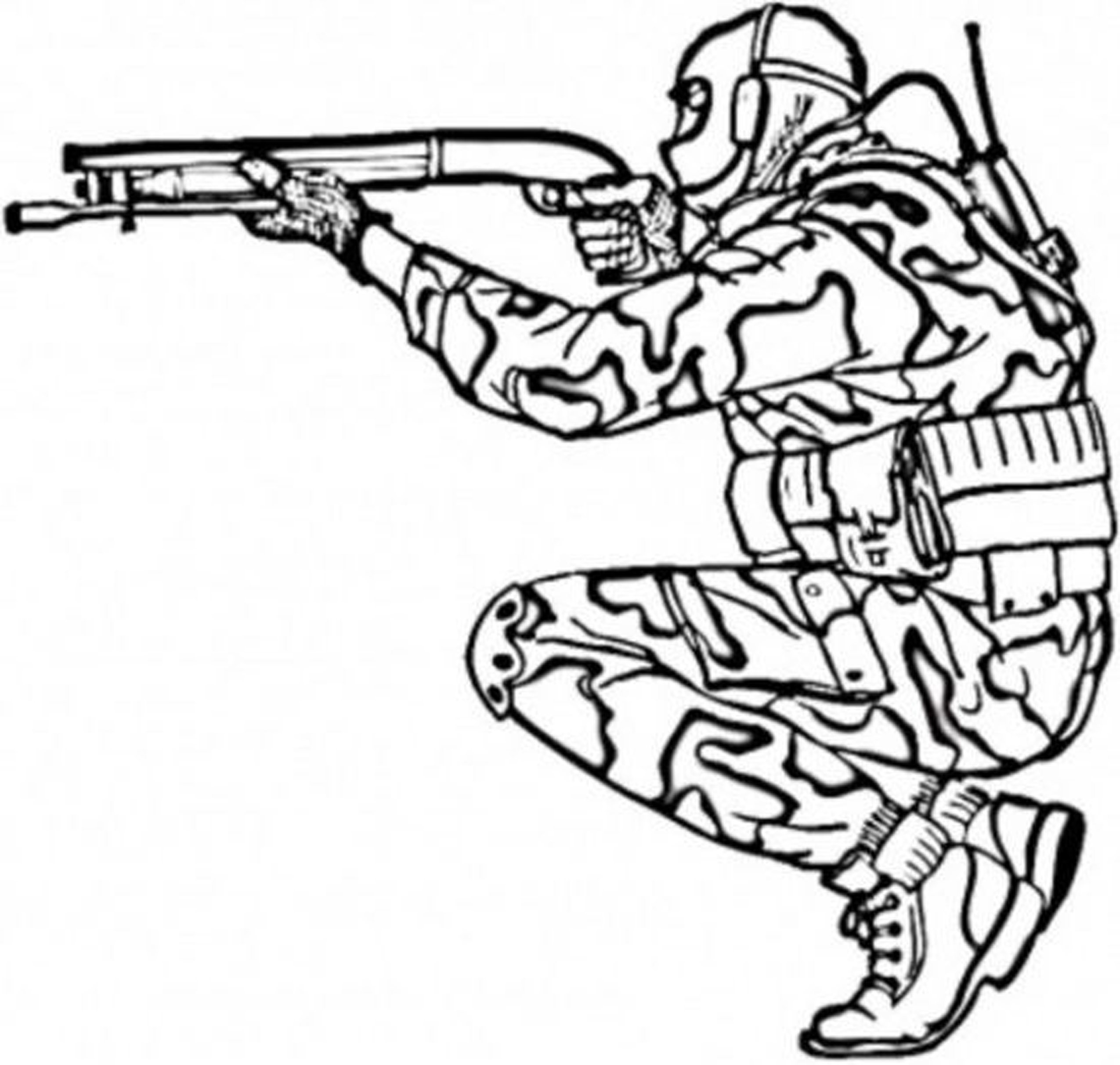 Military Coloring Pages For Kids  Army Coloring Pages Bestofcoloring