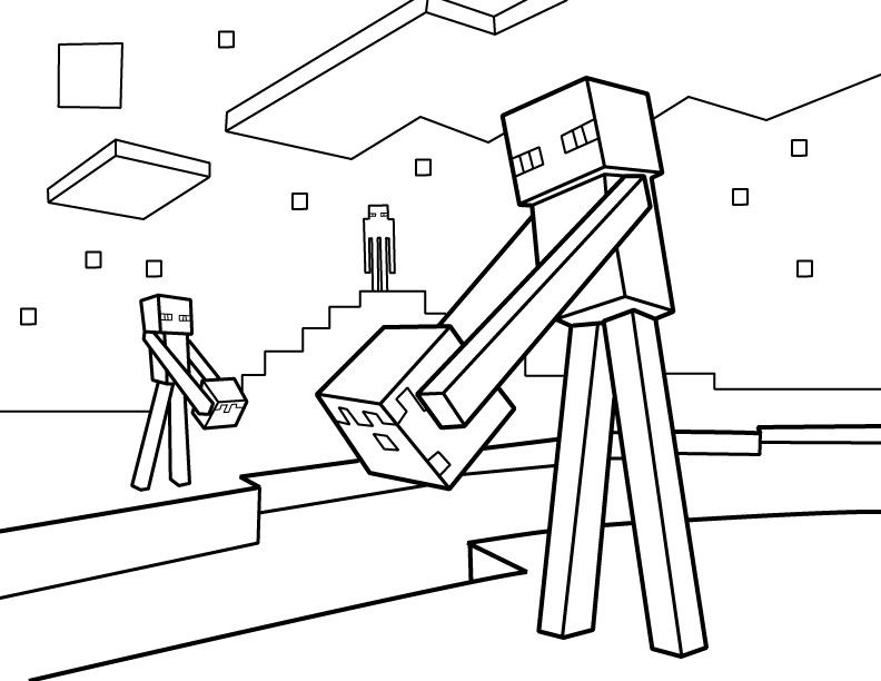 Best ideas about Minecraft Coloring Book For Kids . Save or Pin Minecraft Coloring Pages Best Coloring Pages For Kids Now.