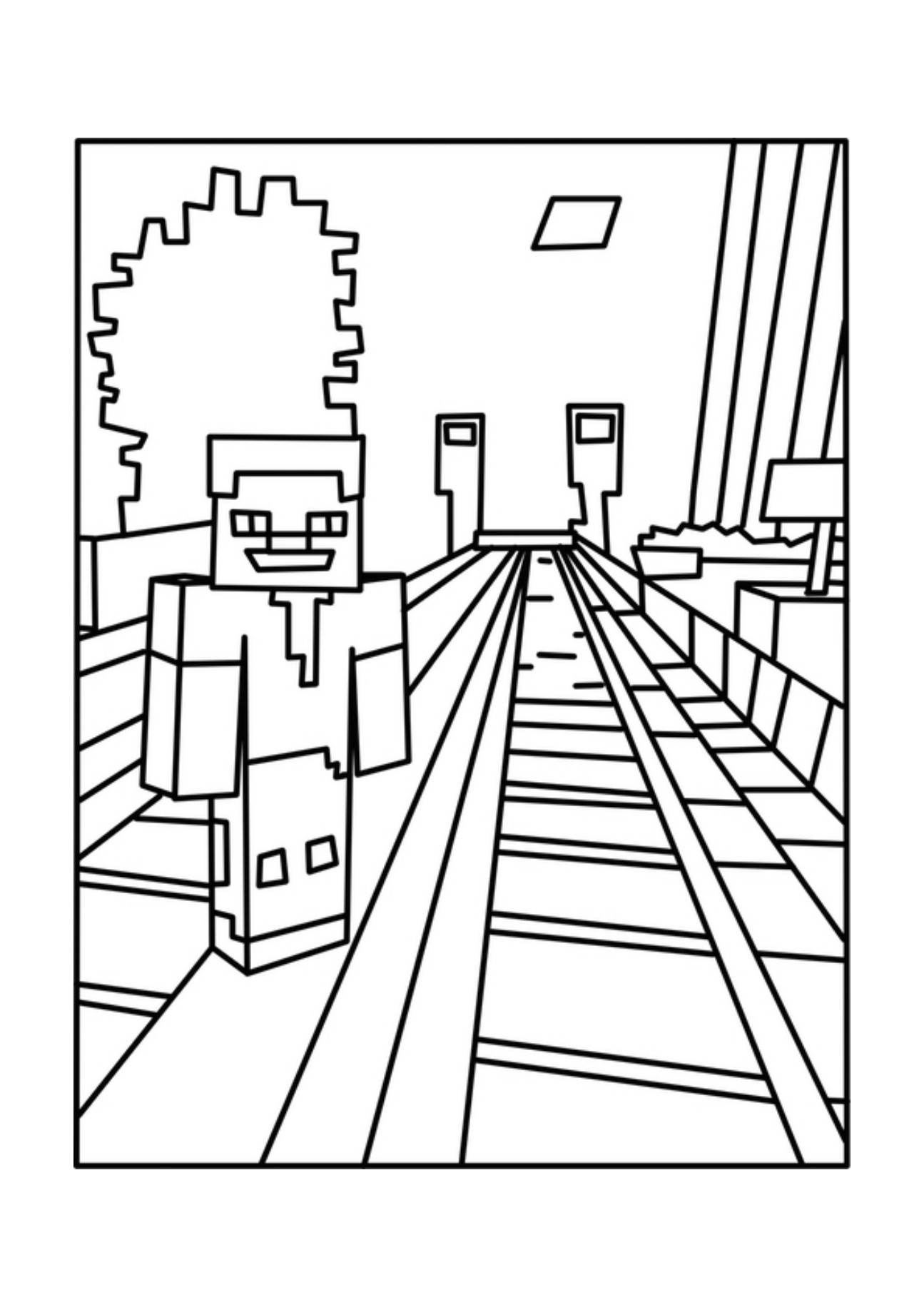 Best ideas about Minecraft Coloring Book For Kids . Save or Pin Printable Minecraft Coloring Pages AZ Coloring Pages Now.
