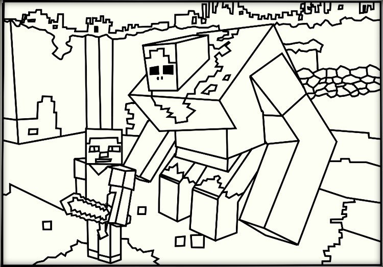 Best ideas about Minecraft Coloring Book For Kids . Save or Pin Minecraft Coloring Pages Now.