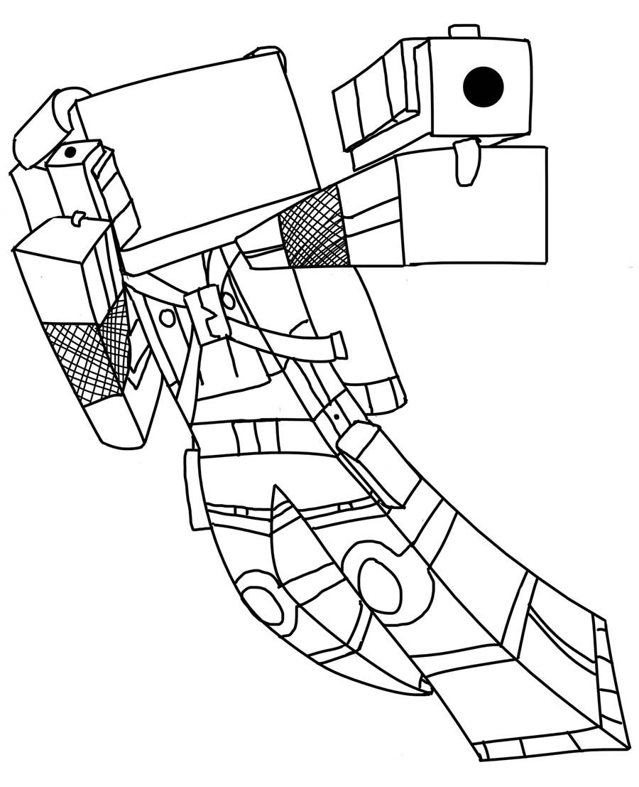 Minecraft Coloring Sheet  Minecraft coloring pages to and print for free