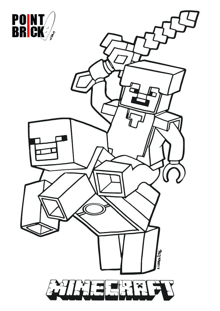 Minecraft Steve Coloring Pages  Steve Minecraft Drawing at GetDrawings