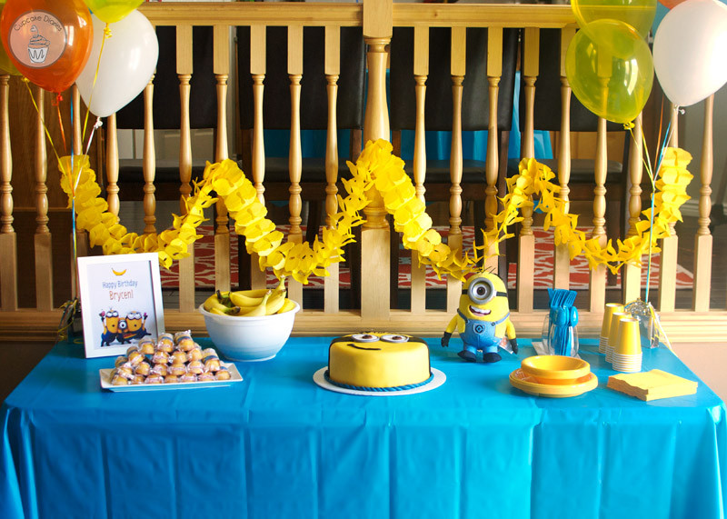 Best ideas about Minion Birthday Party Decorations . Save or Pin 21 Cool DIY Minion Party Ideas Hacked by suliman hacker Now.