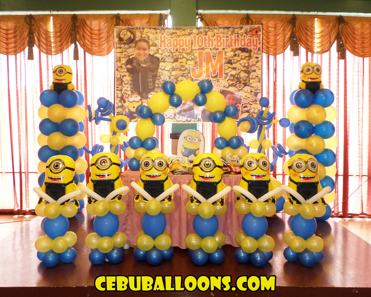 Best ideas about Minion Birthday Party Decorations . Save or Pin Minions Despicable Me Now.