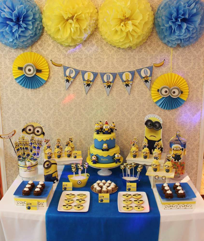 Best ideas about Minion Birthday Party Decorations . Save or Pin Despicable Me Minions Birthday Party Ideas Now.