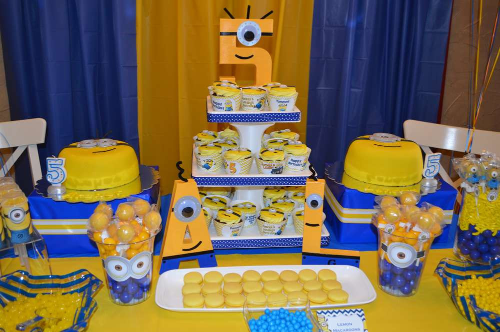 Best ideas about Minion Birthday Party Decorations . Save or Pin Funny Minion Birthday Party — CRIOLLA Brithday & Wedding Now.