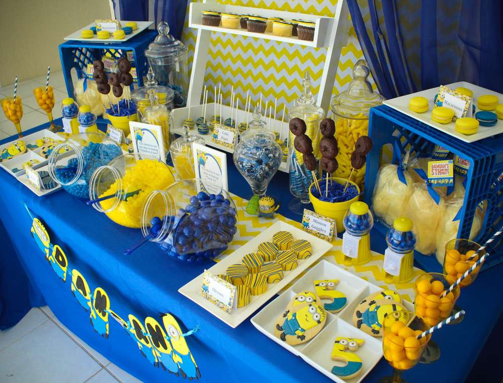 Best ideas about Minion Birthday Party Decorations . Save or Pin Minions Birthday Party Ideas 28 of 49 Now.