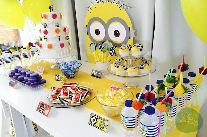Best ideas about Minion Birthday Party Decorations . Save or Pin Kara s Party Ideas Minions Themed Birthday Party Planning Now.