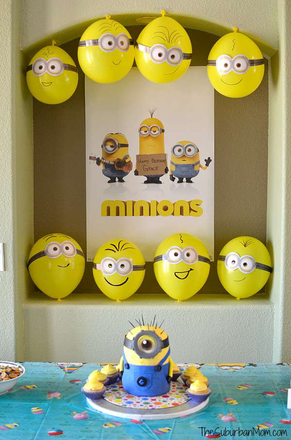 Best ideas about Minion Birthday Party Decorations . Save or Pin Minion Birthday Party Ideas Now.