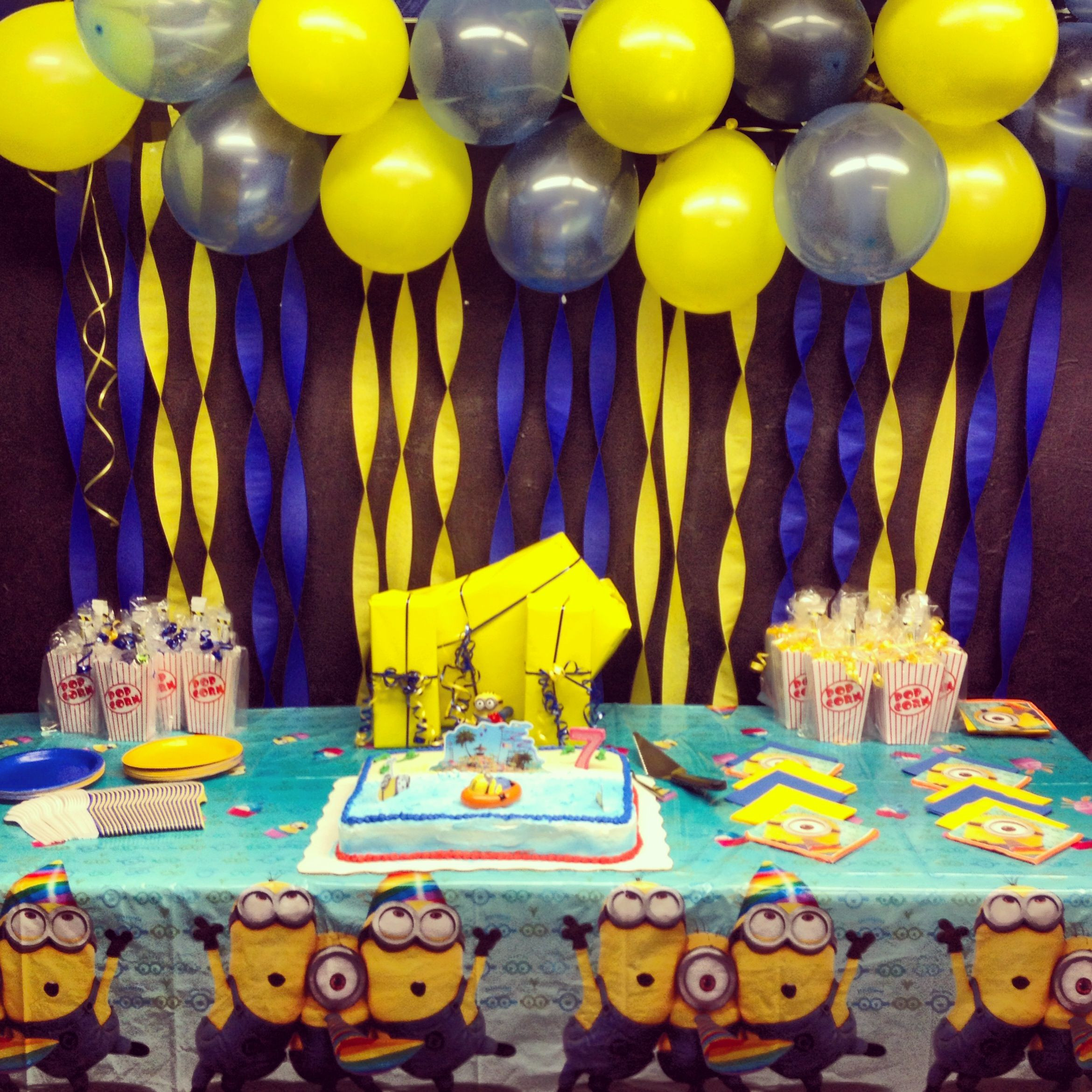 Best ideas about Minion Birthday Party Decorations . Save or Pin Minion party on Pinterest Now.