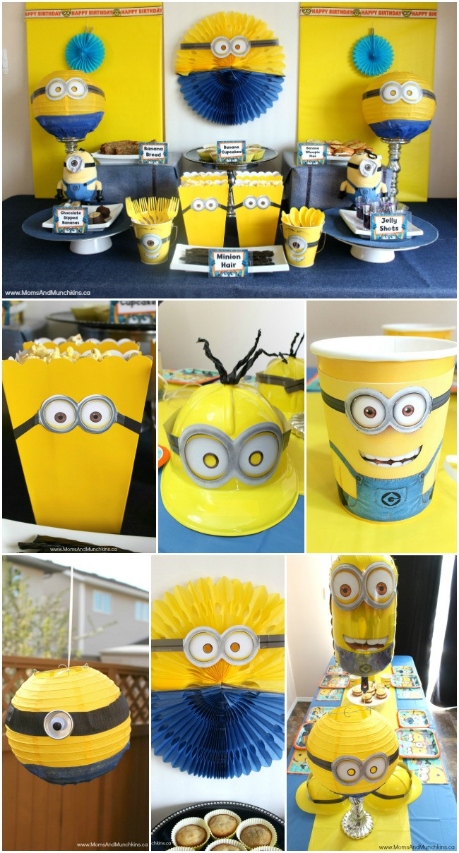 Best ideas about Minion Birthday Party Decorations . Save or Pin Minions Birthday Party Ideas Moms & Munchkins Now.
