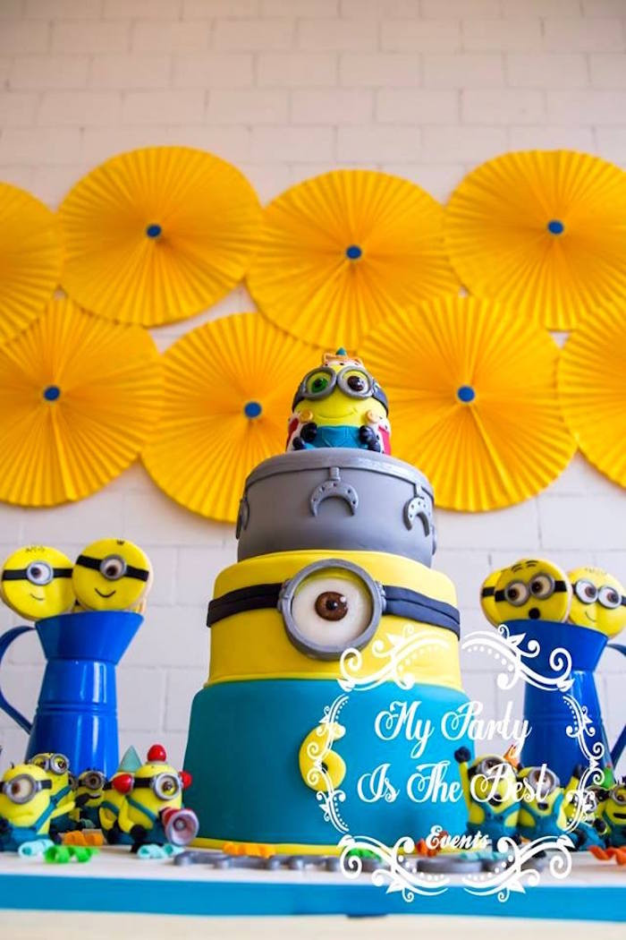Best ideas about Minion Birthday Party Decorations . Save or Pin Kara s Party Ideas Minions Birthday Party Now.