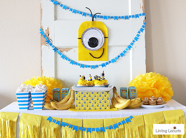 Best ideas about Minion Birthday Party Decorations . Save or Pin Minions Party Ideas Despicable Me Birthday Now.