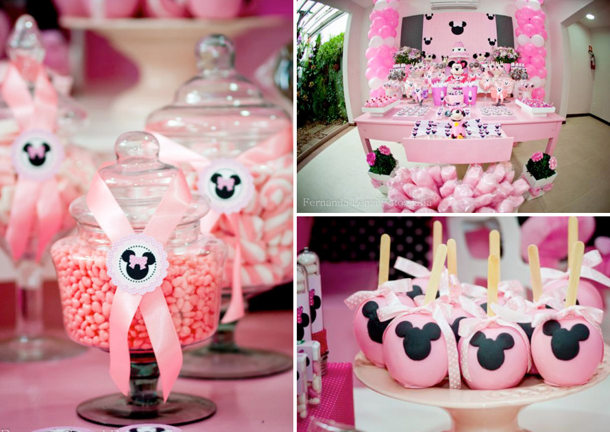 Best ideas about Minnie Mouse Birthday Decor . Save or Pin Disney Minnie Mouse Girl Pink Themed Birthday Party Now.