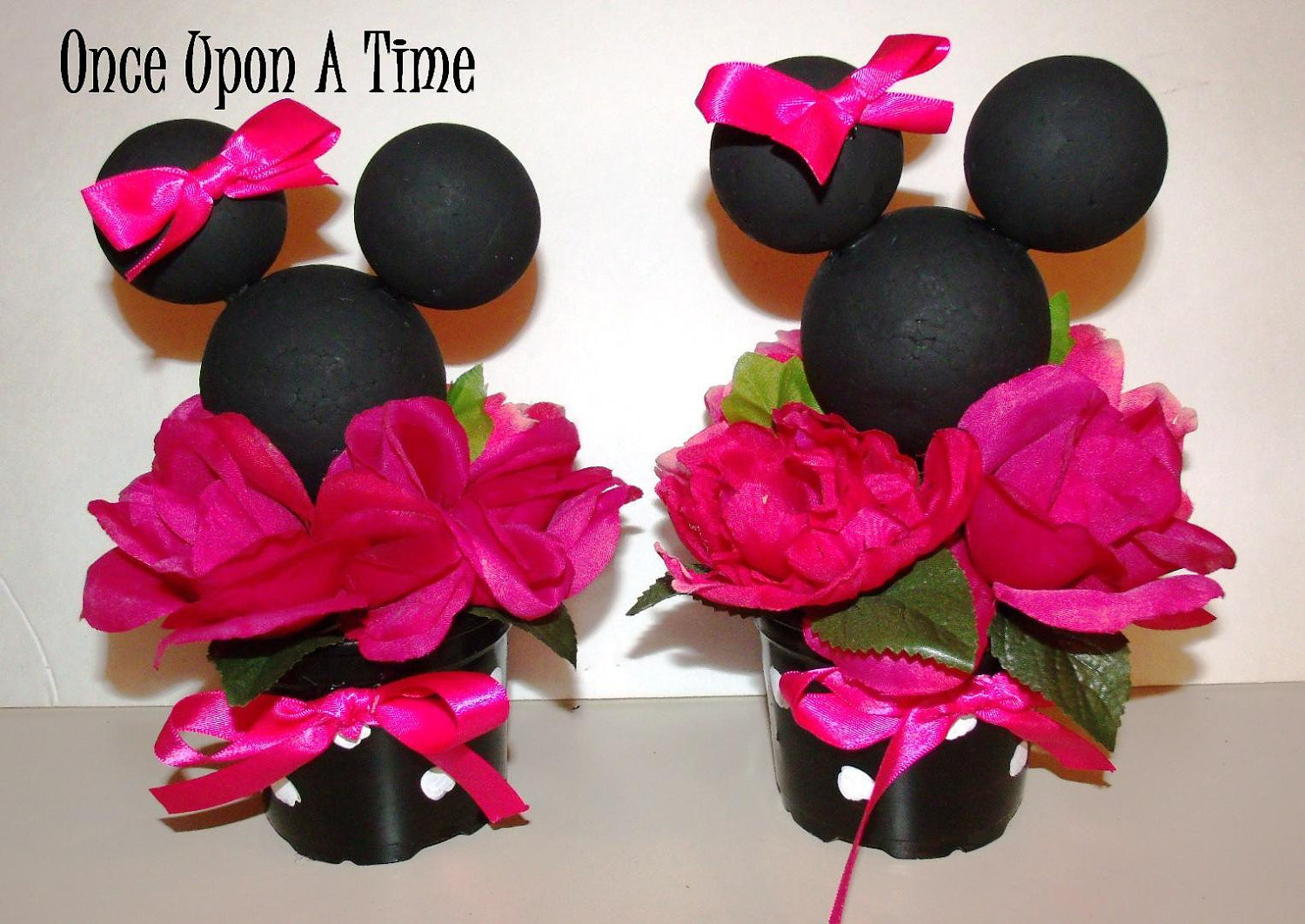 Best ideas about Minnie Mouse Birthday Decor . Save or Pin 2 Minnie Mouse Party Decorations Now.