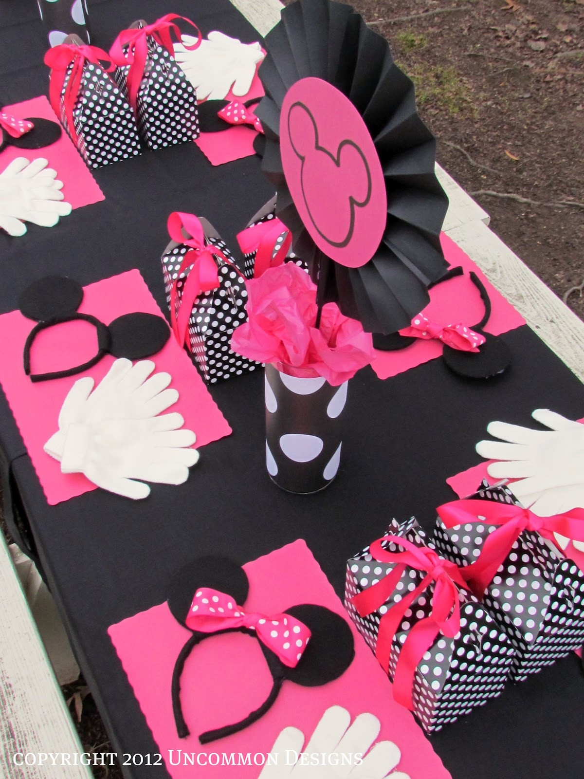 Best ideas about Minnie Mouse Birthday Decor . Save or Pin A Minnie Mouse Birthday Party Un mon Designs Now.