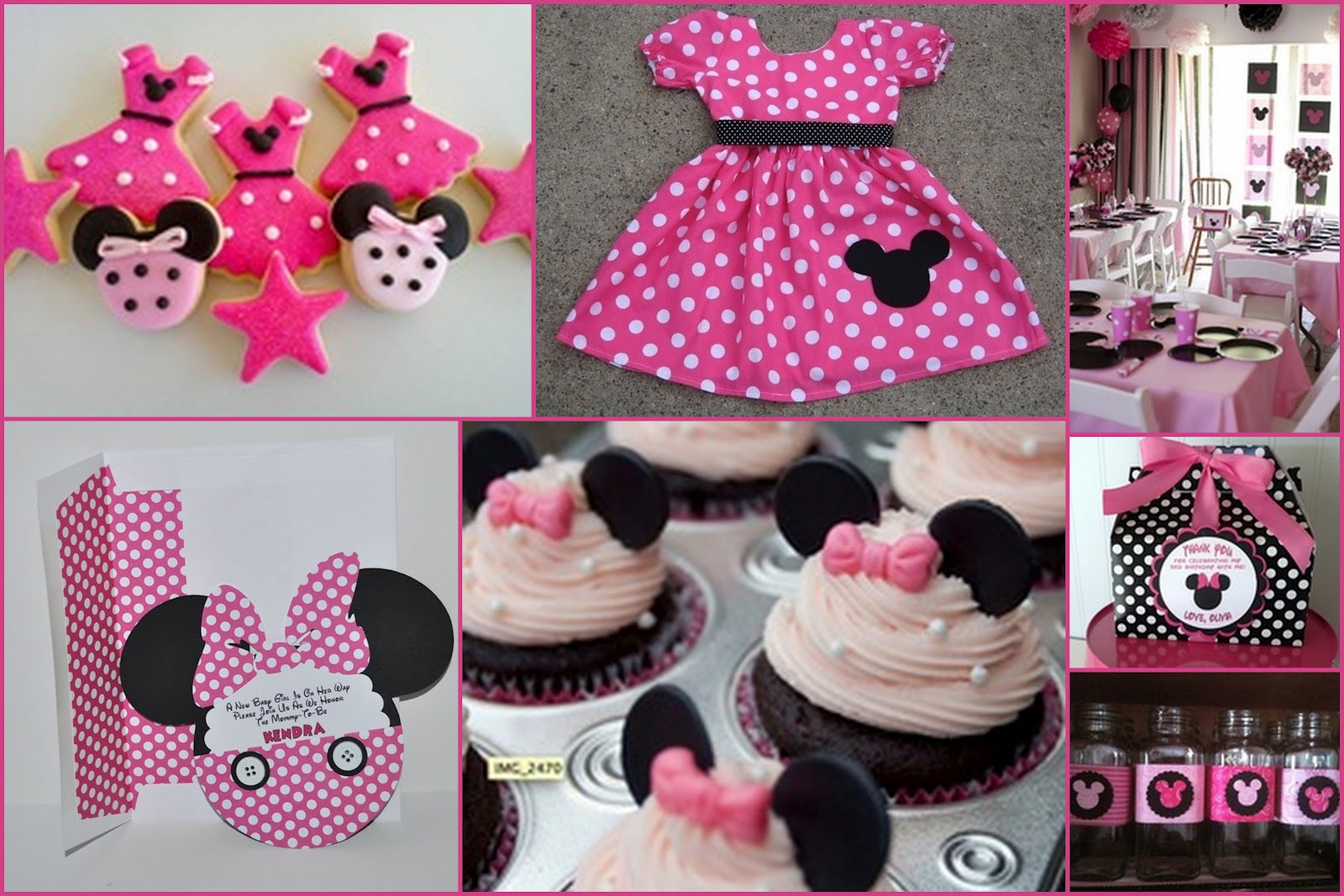 Best ideas about Minnie Mouse Birthday Decor . Save or Pin How to Prepare Minnie Mouse Birthday Party MARGUSRIGA Now.