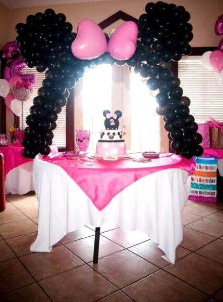 Best ideas about Minnie Mouse Birthday Decor . Save or Pin Minnie Mouse Birthday Party Ideas Pink Lover Now.