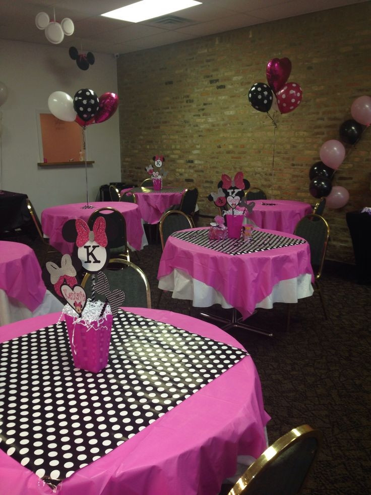 Best ideas about Minnie Mouse Birthday Decor . Save or Pin Minnie Mouse Centerpieces Ideas Best 25 Minnie Mouse Now.