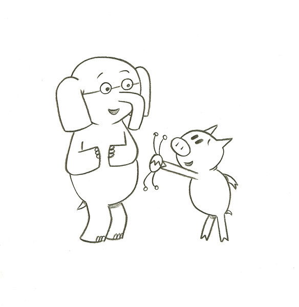 Mo Willems Coloring Pages  Elephant And Piggie Coloring Pages AZ Coloring Pages