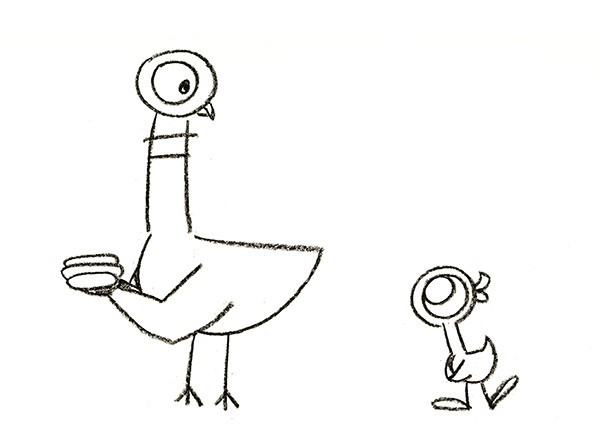 Mo Willems Coloring Pages  Willems Pigeon Books Michelson Galleries